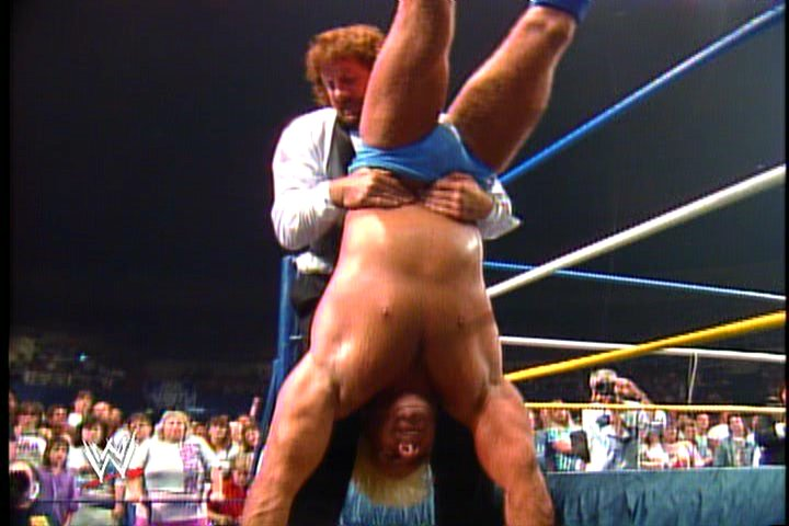 Terry Funk's congratulations sure leave an impression.